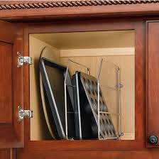 Organizers For Kitchen Cabinets by Cabinet Organizers Kitchen Cabinet Wire Tray Dividers With Clips