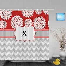 Monogram Shower Curtains Catchy Personalized Shower Curtains And Monogrammed Shower Curtain