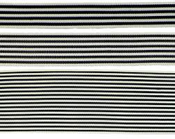 black and white striped ribbon 2 50mm black white stripe grosgrain ribbon 1015 bty from