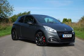 peugeot 208 gti 2013 the best small hatchbacks parkers