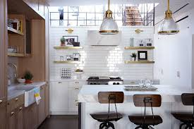 Kitchen Wall Design Ideas Modern Beige Kitchen Design With Red Walls Digsdigs One Wall