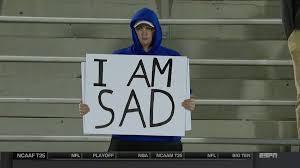 I Am Meme - from fan to meme meet the sad ku football fan from the jayhawks