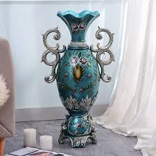 landing large vase of flower ornaments suit style flower flower