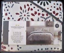 Flannel Duvet Covers Threshold Flannel Duvet Covers U0026 Bedding Sets Ebay