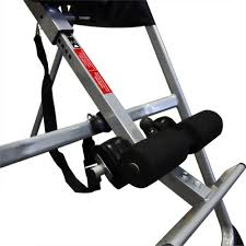 deluxe folding fitness inversion table