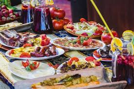 european cuisine mediterranean food plates european cuisine fair in spain