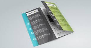 fold brochure template corporate tri fold brochure template brochure templates pixeden