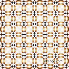 Double Wedding Ring Quilt by Double Wedding Ring Quilts With On Point Settings U2013 All About