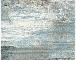 Grey Modern Rug Blue And Grey Area Rugs Floor Coverings Twilight Rug