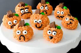 rice crispy treat pumpkins rice krispie treats pumpkins cuts and crumbles