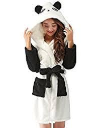 robe de chambre ado amazon fr peignoir panda vêtements