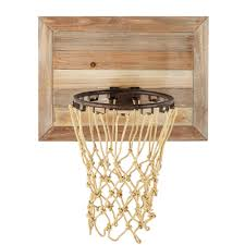 panier de basket bureau panier de basket mural en sapin maisons du monde