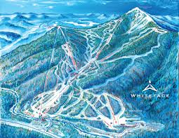 Map Of Usa Mountains by Trail Map Whiteface Mountain