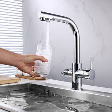 bai 0663 kitchen faucet integrated water faucet two