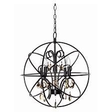 maxim lighting 25142 orbit 4 light chandelier homeclick com