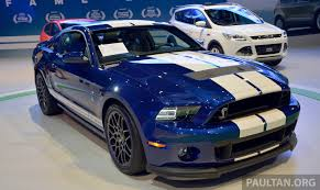 ford mustang shelby gt500 shown at klims13