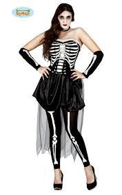 skeleton short dress mujer esqueleto size medium malta