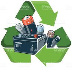 recycle batteries stock vector art 474930600 istock