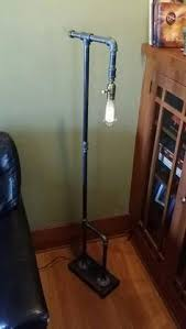 Edison Bulb Floor Lamp Industrial Steampunk Floor Lamp With Classic Bulb Base In