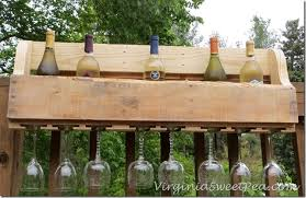 diy pallet wine rack sweet pea
