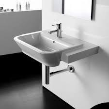 Bathroom Basins  Sinks Including Counter Top  SemiRecessed  UK - Basin bathroom sinks