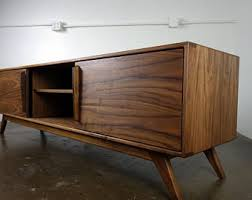 mid century modern tv cabinet the g2 a mid century modern tv console credenza