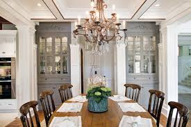China Cabinet Ideas With White Pendant Light Dining Room Victorian - Traditional chandeliers dining room