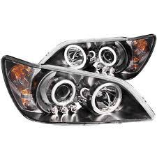 lexus is300 white fog lights anzo usa lexus is300 01 05 projector headlights black w halo
