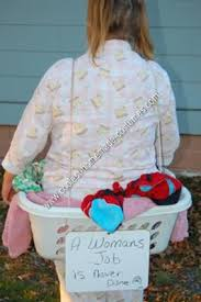 Halloween Costumes Ideas Adults Coolest Homemade Human Laundry Basket Halloween Costume Idea