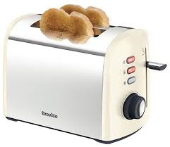 breville cream collection 2 slice toaster cream amazon co uk