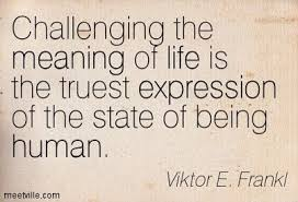 Challenge Meaning Viktore Frankl Challenge Meaning True Expression Human