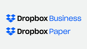 what color are guide signs branding dropbox