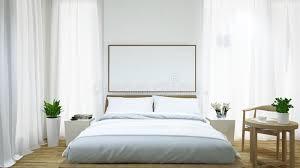 table basse chambre rendu chambre à coucher et table basse 3d image stock image du