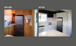 spray painting kitchen cupboards auckland surface with a smile