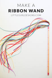 ribbon wands how to make a ribbon wand ribbon wands wand and craft