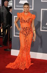 Grammy Red Carpet 2014 Best by Photos Fergie U0027s Risky Grammys Dress Red Carpet Celebrity And