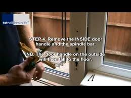 Fitting Patio Doors Upvc Multipoint Lock Removal And Fitting Wmv
