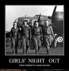 Girls Night Out Meme - now that s a sexy flight crew very demotivational demotivational