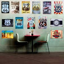 Home Bar Decor Online Get Cheap Route 66 Sign Aliexpress Com Alibaba Group