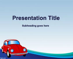 powerpoint themes free cars free old car insurance powerpoint template