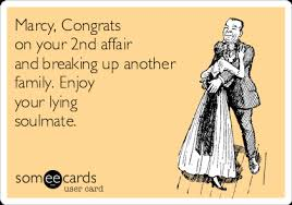 congrats on your divorce card marcy congrats on your 2nd affair and breaking up another family