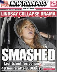 Dui Meme - the sad story behind the passed out lindsay lohan meme broadly