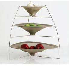 3 tier fruit basket tiered fruit bowl 46 three tier fruit bowl 3 tier chrome hammock