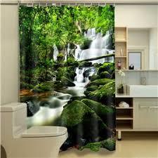 Bamboo Print Shower Curtain 3d Shower Curtain U0026 Beautiful 3d Print Shower Curtains Beddinginn Com