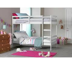 Bunk Beds And Mattress Buy Home Josie Shorty Bunk Bed With 2 Elliott Mattresses White