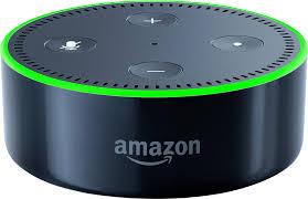 amazon echo dot 2nd generation black dotblack best buy