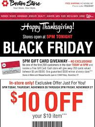 bostonstore your 10 10 black friday coupon milled