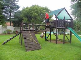 forest jungle gym