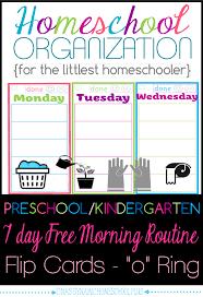 homeschool organization preschool kindergarten free morning