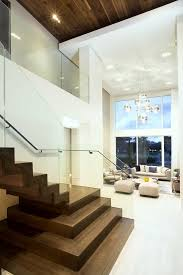 contemporary floating zigzag stair collaboration bella stairs